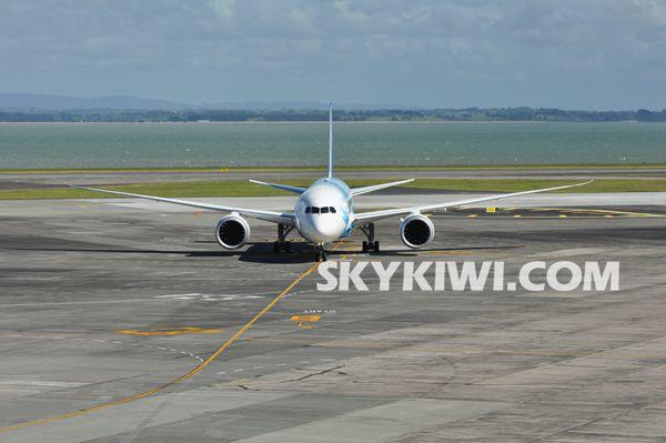梦想客机来啦!南航波音787执飞广州至奥克兰航线